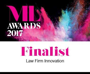 ML Awards 2017 Law Firm Innovation - Finalist
